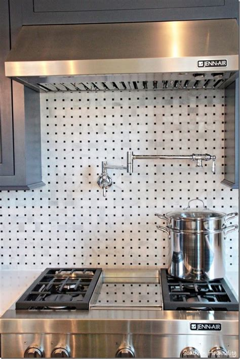 kitchen wall backsplash ideas feature friday the hgtv smart home in nashville tn