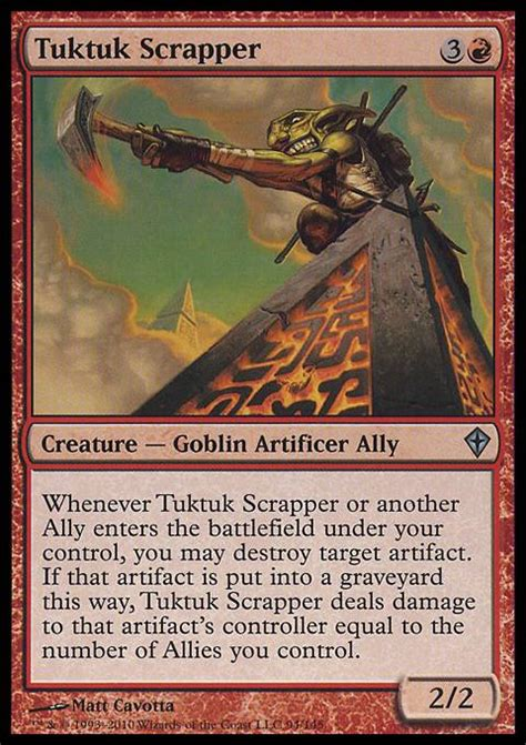 tuktuk scrapper wwk mtg card