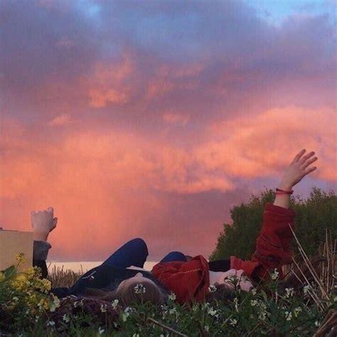 pinterest kacysing   indie kids sunset sky