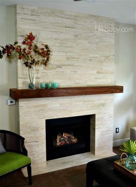 diy fireplace update with built in shelves on each fireplace modern makeover before after diy