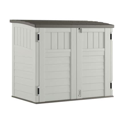 home depot suncast horizontal storage shed suncast 34 cu ft horizontal utility shed bms2500