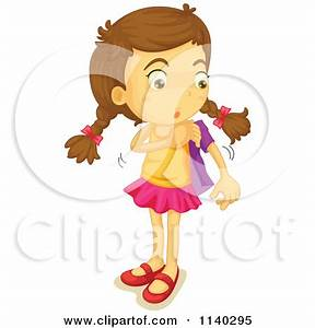 Girl Changing Clothes Clipart - Clipart Kid
