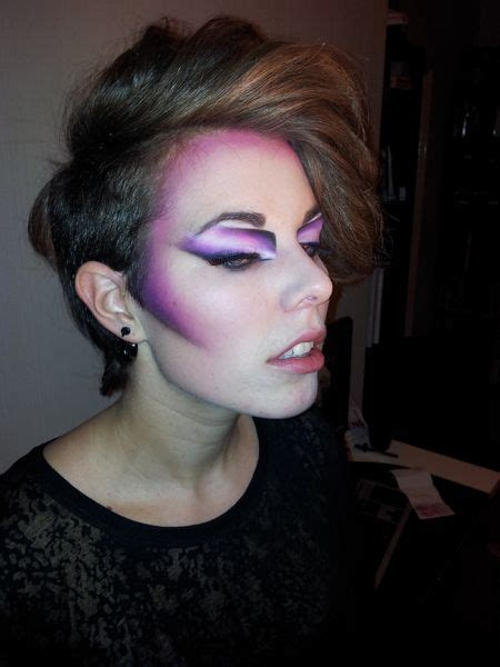 80s New Wave Hairstyles by Angular New Romantics Makeup Inspirations 80s Makeup