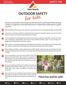 Outdoor Safety Tips