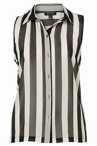 Sleeveless Stripe Shirt - 7 Very Fashionable Vertical ...