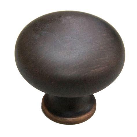 lowes kitchen cabinet knobs shop allen roth aged bronze mushroom cabinet knob at