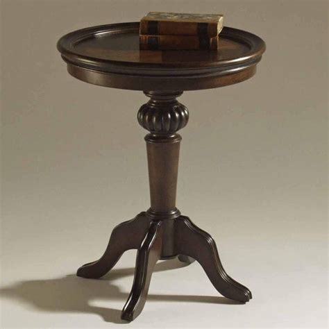 pedestal accent table ferndale pedestal accent table end tables