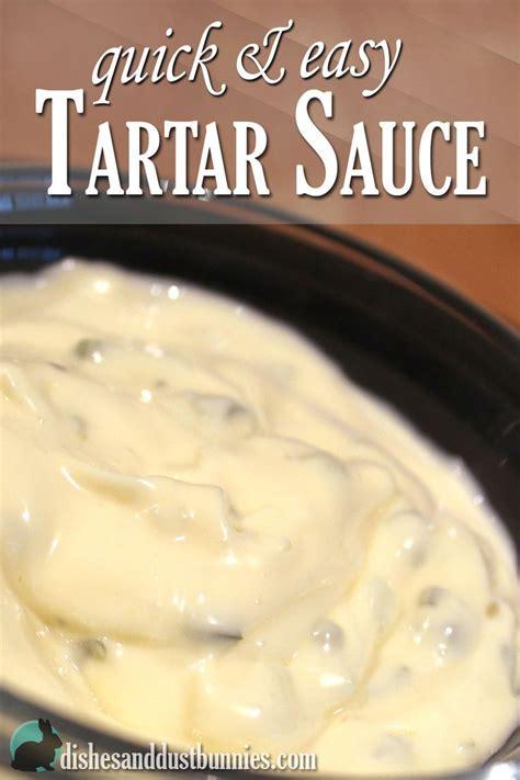 25 Best Ideas About Tartar Sauce Ingredients On Pinterest
