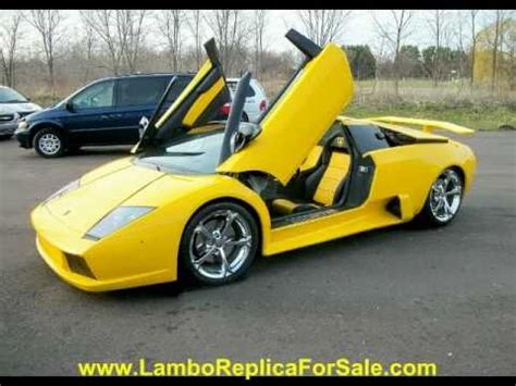 fake lamborghini key lamborghini murcielago replica kit car turn key lp640