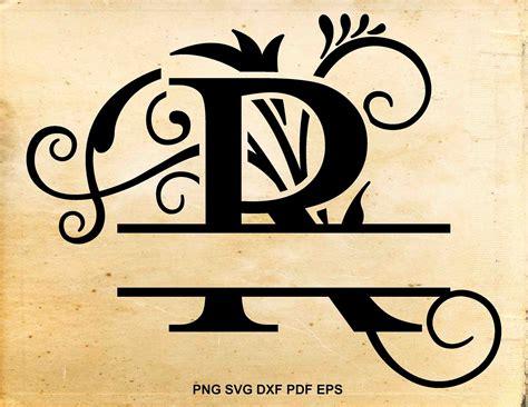 split monogram svg monogram letters split font split etsy monogram svg monogram letters
