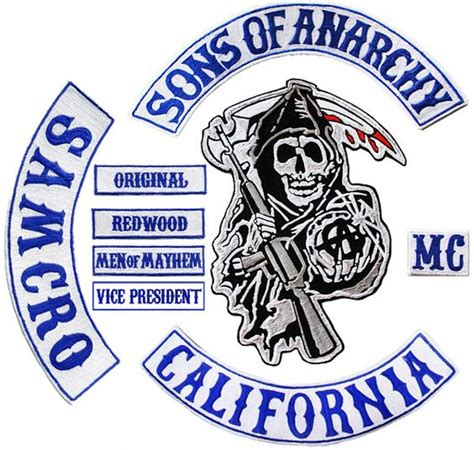 sons of anarchy patches 17 best images about jax 2nd sons of anarchy custom