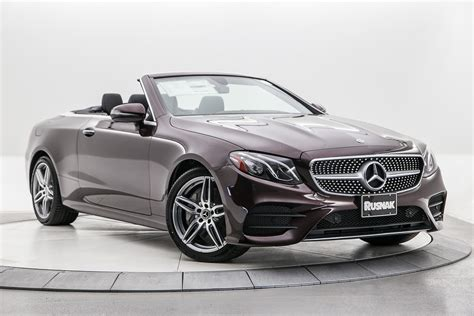 It rides smoothly over rough road surfaces while still feeling spry and composed around turns. New 2019 Mercedes-Benz E-Class E 450 2D Convertible in Pasadena #590148 | Rusnak Auto Group