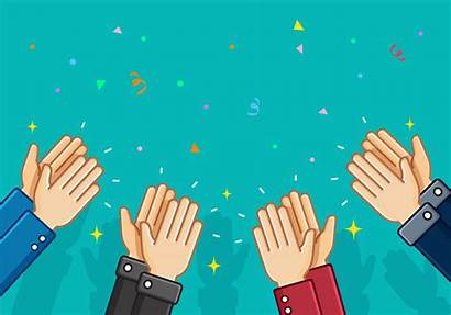 Clapping Vector Applause Background Hand