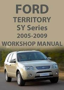 Ford Territory Workshop Wiring Diagram