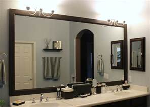 ideas for bathroom mirrors attractive framed bathroom mirrors ideas cagedesigngroup
