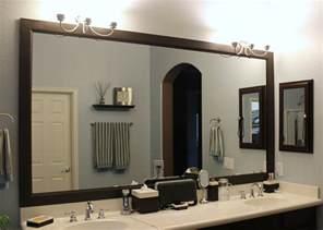 mirror for bathroom ideas attractive framed bathroom mirrors ideas cagedesigngroup