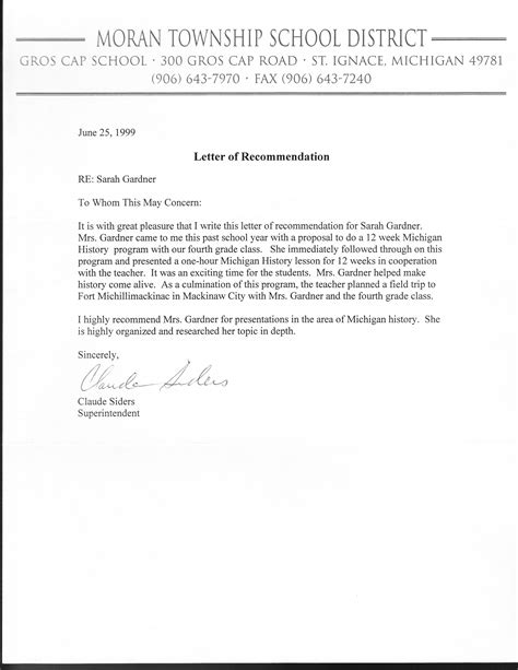 how to write a letter of recommendation for a a reference letter letters free sle letters