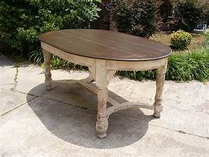 oval dining table completely handcrafted distress brown With distressed oval coffee table
