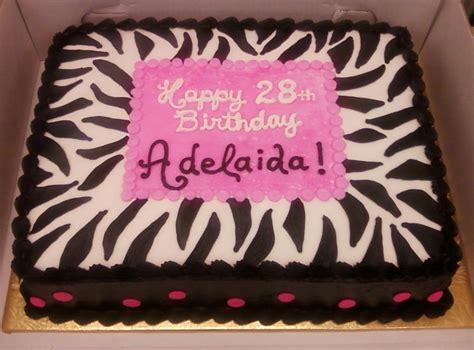 zebra print sheetcake cakecentralcom