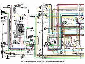 Headlight Wiring Diagramfor 1972 Chevy Pickup