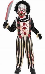 Little Boys Slasher Clown Costume - Party City