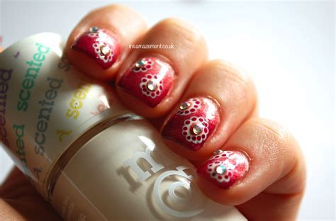 Japanese Inspired Floral Nail Art Tutorial