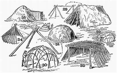 Survival Wilderness Shelter Shelters Shacks Shanties Native