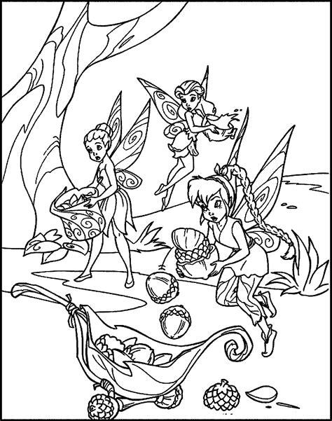 Gambar Mewarnai Peri Cantik Tinkerbell Disney Murid 17 Poster