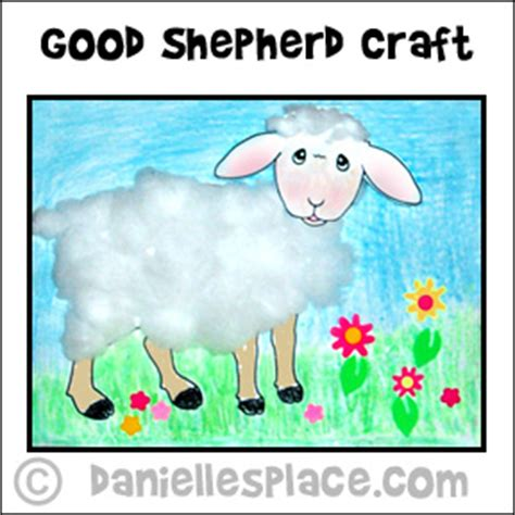 the shepherd bible lesson for children 805 | sheep activity sheet