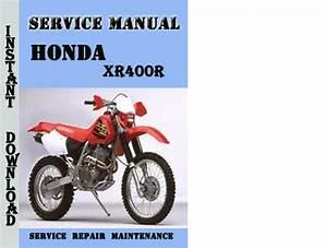 Honda Xr400r Service Repair Manual Pdf Download