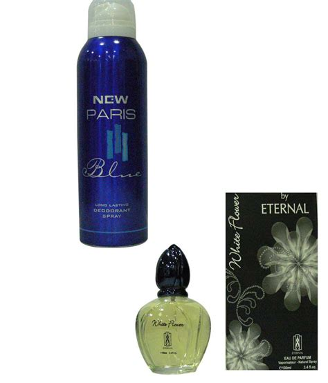 Eternal Combo Of New Paris Blue Deo Spray For Men And