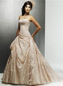 champagne wedding dresses dressed up girl With wedding gowns champagne color