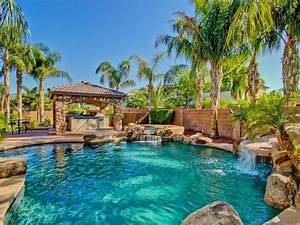 The most beautiful tropical style swimming pool design