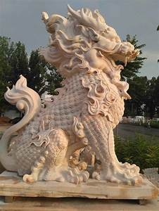 Large, Outdoor, Statues, Lion, Statues