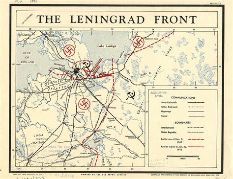 siege cia leningrad front