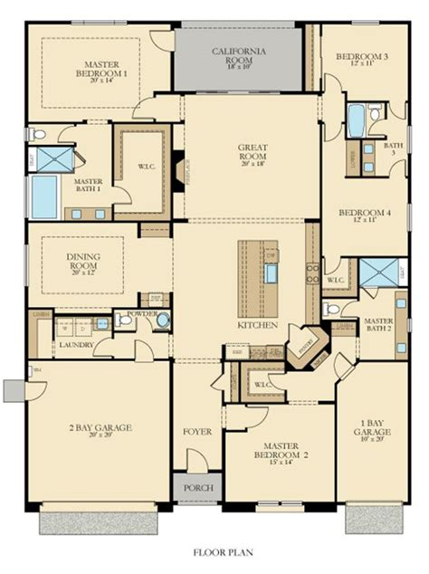 residence   home plan  summit view  blackstone  house plans master suite floor