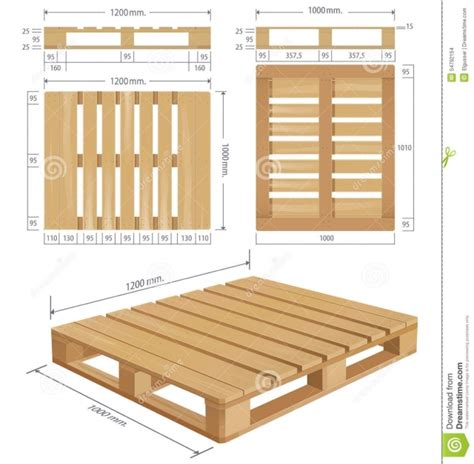 wooden pallet dimensions size image wooden shipping pallet