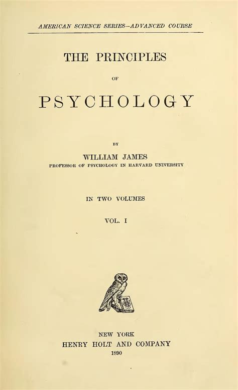 The Principles Of Psychology Wikipedia
