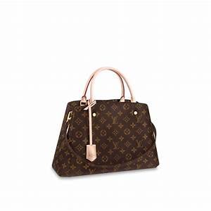 Louis Vuitton Handtasche : montaigne mm monogram canvas handbags louis vuitton ~ Watch28wear.com Haus und Dekorationen