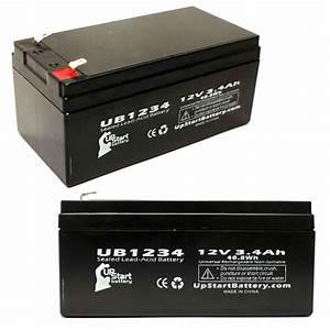 Batterie 12v 4ah : 2 pack aquatec fortuna bath lift battery ub1234 12v 3 4ah sealed lead acid agm ~ Medecine-chirurgie-esthetiques.com Avis de Voitures