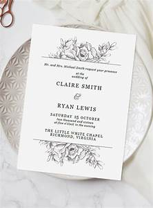 Best 25 illustrated wedding invitations ideas on for Wedding invitations less than 1