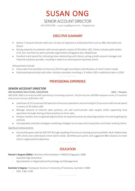 Download Free Resume Templates | Singapore Style