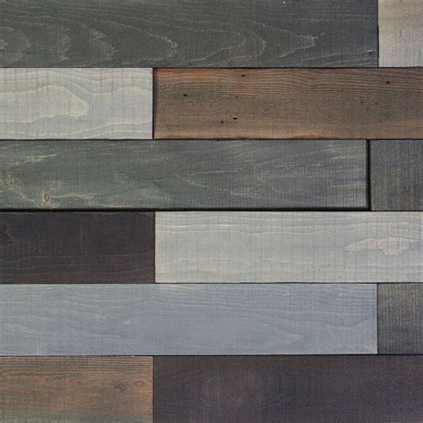 Nuvelle Flooring Home Depot by Nuvelle Deco Planks Forest Pewter 1 2 In Thick X 4 In
