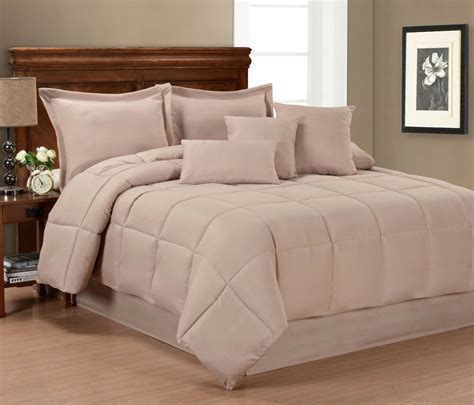 pur luxe solid color  piece comforter set ebay