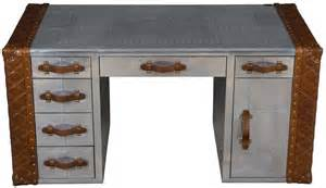 aviator trunk desk airplane aviation office furniture