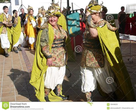 andalusian spain village costumes festival