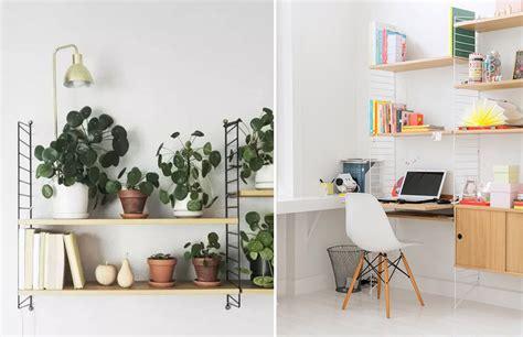 bureau string etagere bureau design la munie de deux tiroirs laque