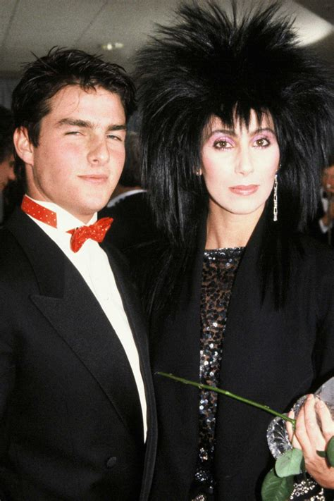 boyfriend löcher say what tom cruise and cher dated back in 1987 when he