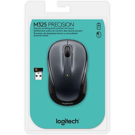 logitech wireless web logitech wireless mouse m325 silver souris pc