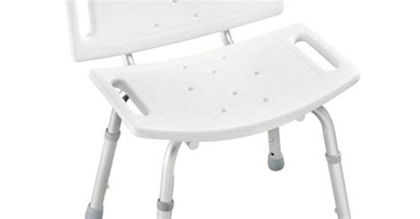 .97 Peerless Adjustable Tub And Shower Chair, White